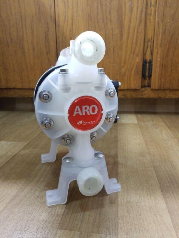 "ARO Ingersoll Rand Non-Metallic Diaphragm Pump 3/4"" NPT 15 GPM 670152-A"