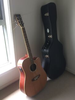 Tanglewood acoustic/electric fish man pick up