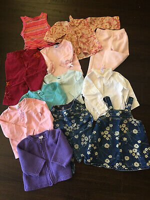 12 Piece Girls 12-18 month Baby Gap & Old Navy Outfits Pants Tops Sweater Dress