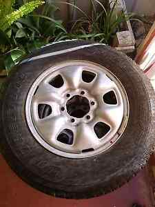 4 x Hilux 2005 -2011 Steel Rims and Dueler H/T Tyres Pooraka Salisbury Area Preview