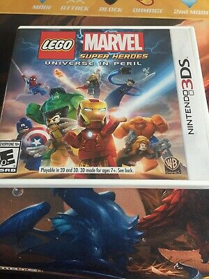 LEGO Marvel Super Heroes Universe in Peril Nintendo 3DS with case and