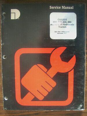 Ih Farmall International 656 666 686 Hydro 70 Hydro 86 Hydro Service Manual