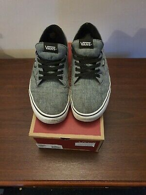 Mens Vans Grey Shoes Size UK 10.5/US 11/ EU 44 Fast Delivery UK Seller D26