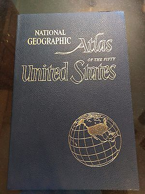 Huge 1960 National Geographic United States Atlas