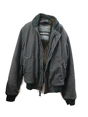 Abercrombie and Fitch Harrison Men's Jacket Gray Size Large