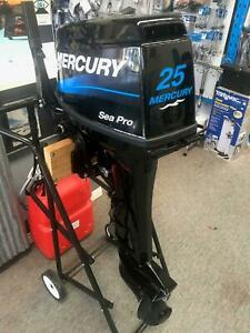 As New 2017 Mercury 25hp 2-Stroke Outboard Engine