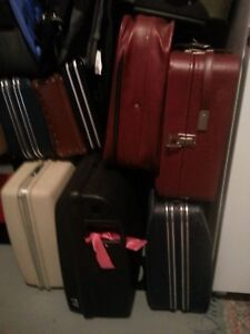 luggage, assorted, used