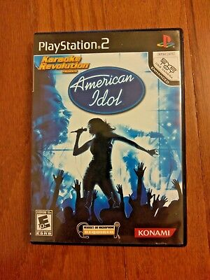 AMERICAN IDOL– PLAYSTATION 2 (PS2) – VIDEO GAME BY KONAMI Konami American Idol Games