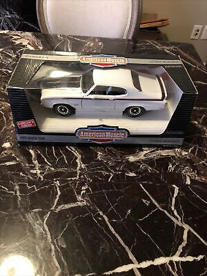 ERTL 1970 Buick GSX Stage 1,  Nationals LE,  American Muscle 1:18 Diecast White