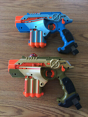 2 Laser Tag Phoenix LTX Lazer Tag Guns for Nerf Tagger Blaster