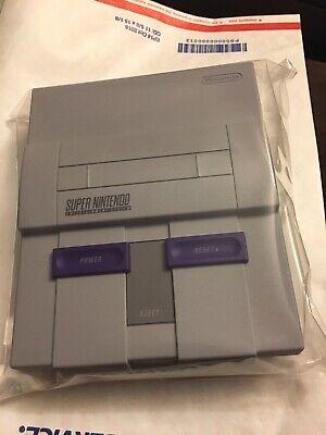 Super Nintendo-Super NES Mini Classic Edition CONSOLE ONLY-NO CONTROLLERS/CABLES