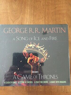 Song of Ice and Fire: A Game of Thrones 5 Book Set. New in Box