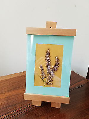 Maple Easels - D. Anne Dried Floral Art Floral Design w/Michael Graves Maple Easel Stand Frame