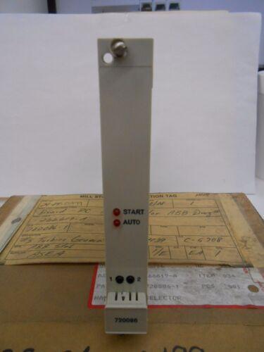 ABB STAL 720086-1 MODE SELECTOR PCB CIRCUIT BOARD MODULE