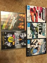Fast & Furious 1,2,3,4 &5 (Lot) DVDs Docklands Melbourne City Preview