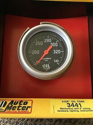 Auto Meter Mechanical Oil Temp Gauge #3441