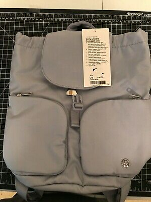 Lululemon Carry Onward Rucksack Mini light grey backpack
