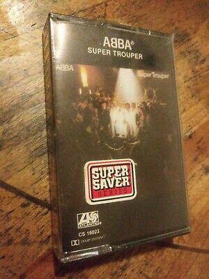 NEW ABBA SUPER TROUPER CASSETTE TAPE SEALED U.S.A. PRESSING