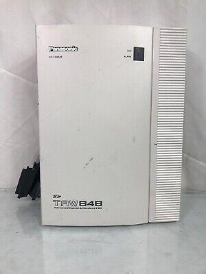 Panasonic Kx-taw848 Advanced Hybrid Wireless Pbx System Main Cabinet Sd Card