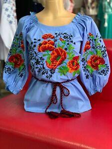 9ec5b46d44f Ukrainian Embroidered blouse Vyshyvanka Embroidery