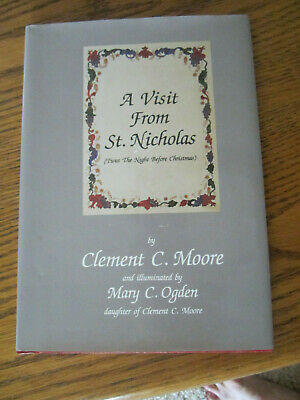 A VISIT FROM ST.NICHOLAS*  BOOK * 1995