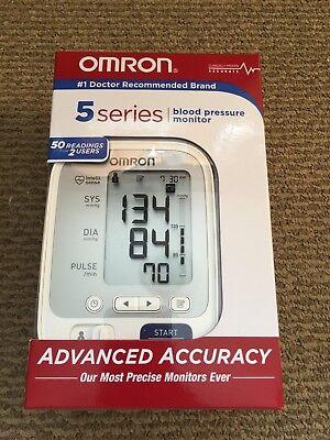BRAND NEW IN BOX Omron 5 Series Upper Arm Blood Pressure Monitor MODEL BP742N