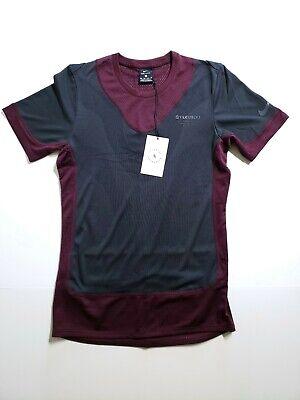 e0d1692fa0e9c Nike Gyakusou Undercover Running Shirt Burgundy Black BQ3250 643 Mens SZ XS
