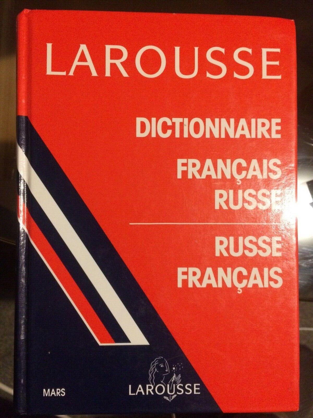 Dictionnaire larousse français-russe/ russe-français.
