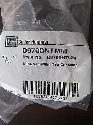 EATON CUTLER HAMMER 3 Way Mini Tee Connector D970DNTMM  ()