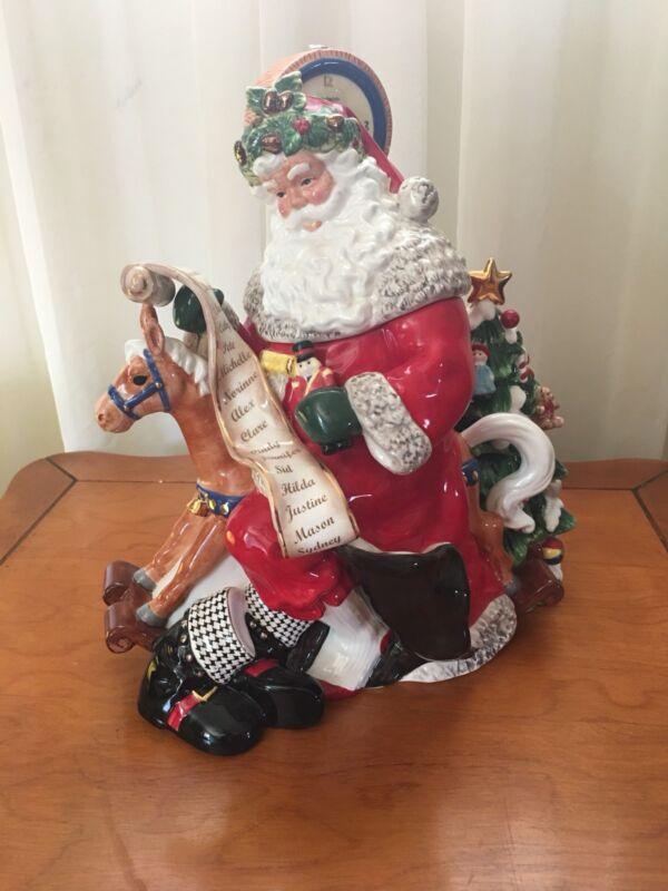 Waterford Holiday Heirlooms Christmas Cookie Jar