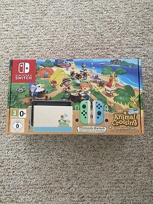 ⭐️ Nintendo Switch Animal Crossing New Horizons Console Bundle Edition + GAME! ⭐