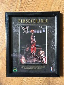 Framed Michael Jordan 1997 8x10 upper deck collectible