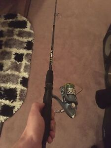 Glacier fishing rod