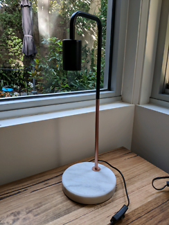Kmart copper and marble table lamp (marmo)