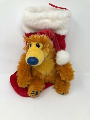 VTG Disney Bear In The Big Blue House Singing Plush Sensor Christmas Stocking