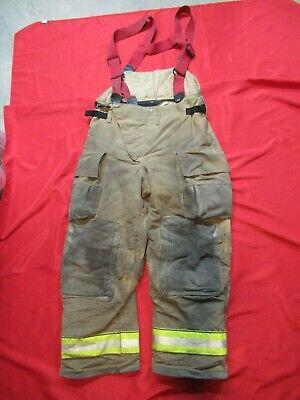 Mfg. 2014 Globe Gx-7 36 X 30 Firefighter Turnout Bunker Pants Fire Gear Rescue
