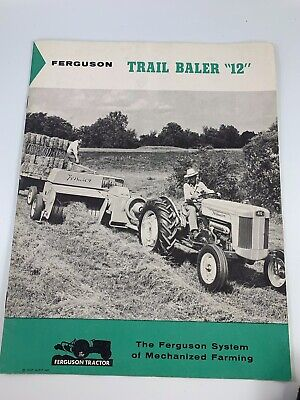 "Vintage 1957 Advertising Sales Booklet For Ferguson Trail Blazer ""12"""