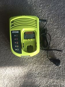 Ryobi one+ LI-ION NICD Dual Chemistry Battery Charger 18v Lilyfield Leichhardt Area Preview