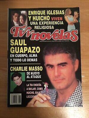Tv y Novelas magazine 1996 Num. 6 SAUL LISAZO