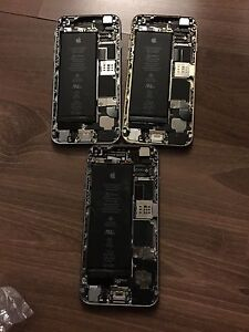 4 iphones 6 for parts