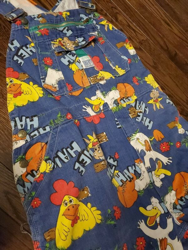 Vintage Hee Haw Liberty Overalls Size 36x42