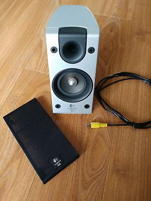 Original Logitech Z-2300 Left Speaker Yellow Connector - Tested Working