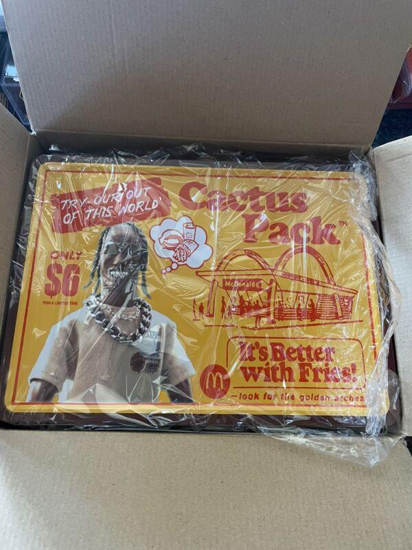 Travis Scott McDonalds Collectible Lunch Box Cactus Jack On Hand Ships ASAP