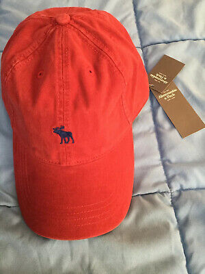 ABERCROMBIE & FITCH, ADJUSTABLE  HAT, CAP, ONE SIZE, NWT, FREE SHIPPING, (V692)