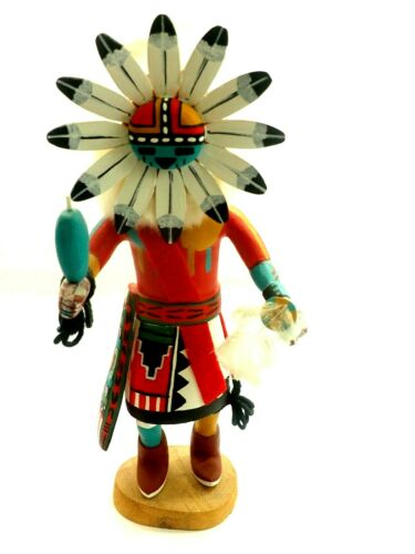 "Sun Face Kachina Martin Jackson Hopi Moenkopi Mesa 15"""