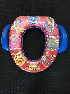 Barely used PAw Patrol potty seat with accessories