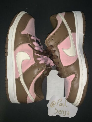 Nike Dunk Low Pro SB Stussy Size 7 Amazing Condition With Receipt 100% Authentic