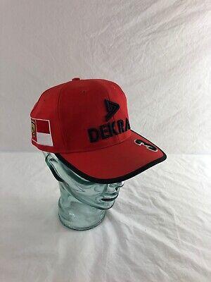 Official Dekra Ferrari Formula F1 Michael Schumacher Team PPM Cap Hat