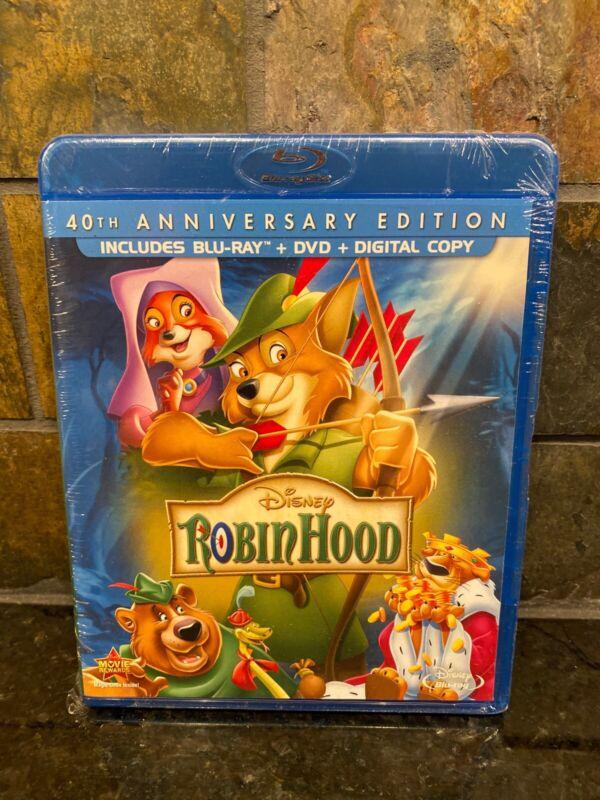 Robin Hood [new Blu-ray] With Dvd, Anniversary Ed, Digital Copy, Dolby, Digita