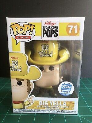 Funko PoP! Ad Icons Kelloggs Big Yella #71 Funko Shop Limited Edition